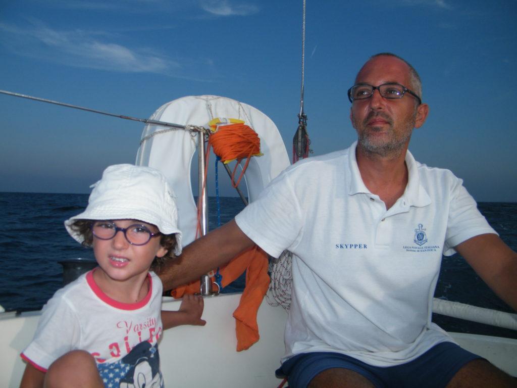 Skipper Barca a vela
